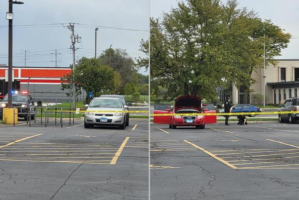 Picture for 1 injured, multiple cars hit by gunfire during shooting in front of Waukegan grocery store