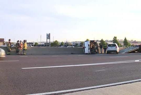 Picture for I-40 eastbound reopens in west Oklahoma City after crash