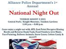 Picture for Alliance Police Department to hold 'National Night Out'