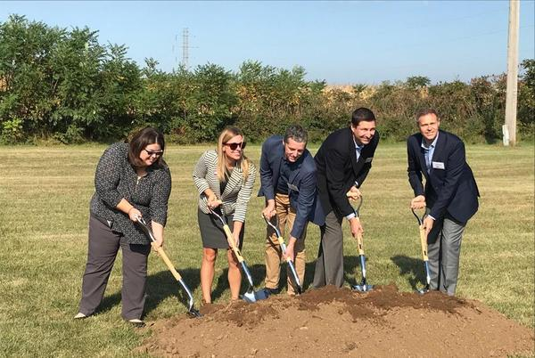 Picture for Unifrax Hosts Groundbreaking Ceremony for SiFAB™ Manufacturing Line