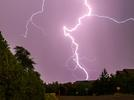 Picture for Lightning strikes two building Wednesday
