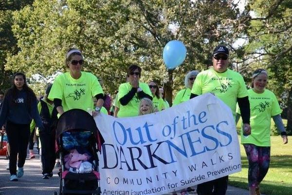 Picture for Out of the Darkness walk in Willmar Saturday