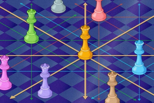 Picture for Mathematician Answers Chess Problem About Attacking Queens