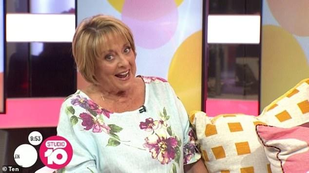 Picture for 'You're stuck with me, darling!' Denise Drysdale fires back at a Studio 10 viewer who told her she was 'too old' to be on television