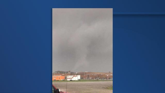 Cover for Damage Report: EF-1 tornado touched down in Medina County