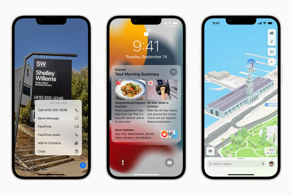 Picture for iOS 15 is available today