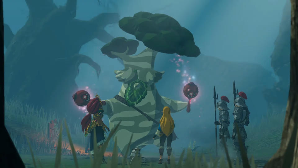 Daily Debate What Should The Reward Be For Korok Seed Collection In Hyrule Warriors Age Of