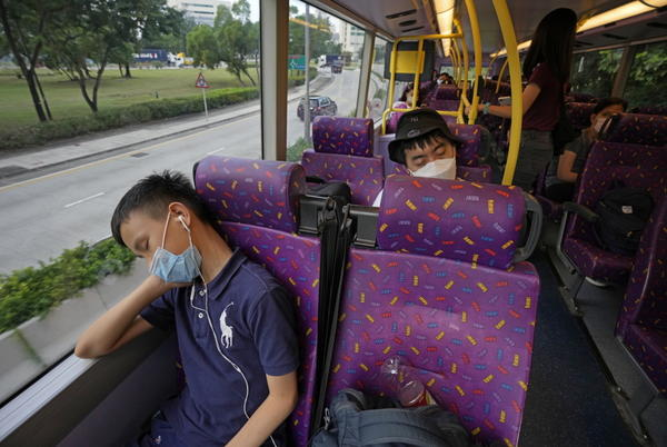 Picture for For sleepy Hong Kong residents, five-hour bus tour is a snooze