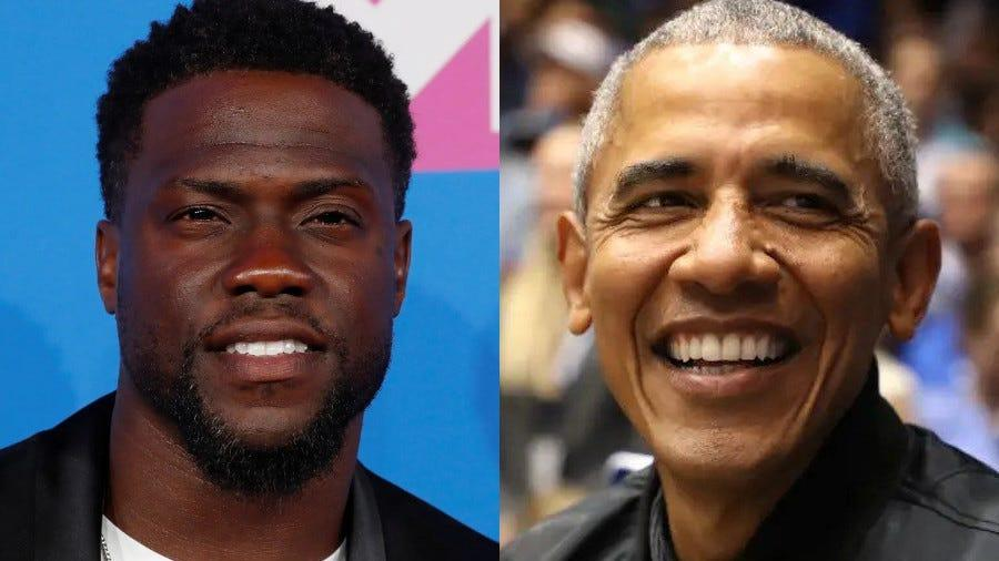Picture for Kevin Hart says Barack Obama got involved with Netflix's 'Fatherhood' because its shows a 'Black man being a good father'