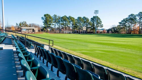 Cover for Methodist University's women's soccer team off to 7-1 start with renovated home field