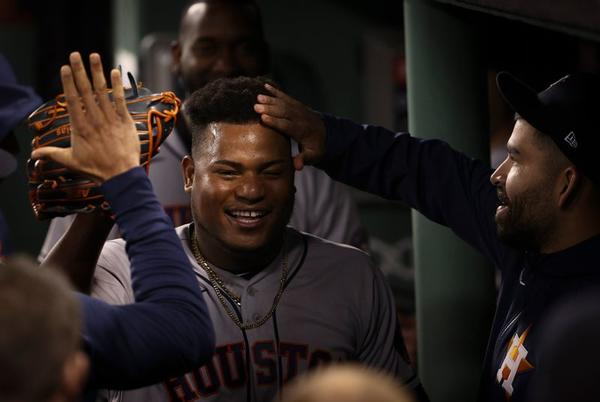 Picture for Astros' Valdez goes 8, beats Red Sox 9-1 for 3-2 ALCS lead