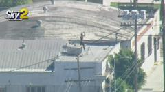 Cover for Robbery Suspect Holes Up On Rooftop Before Being Arrested