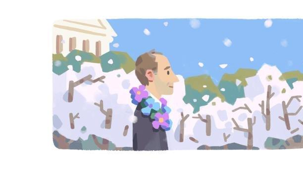 Picture for Google honors astronomer, gay rights activist Frank Kameny with new Doodle