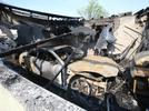 Picture for Family escapes burning CG home after officer wakes them up