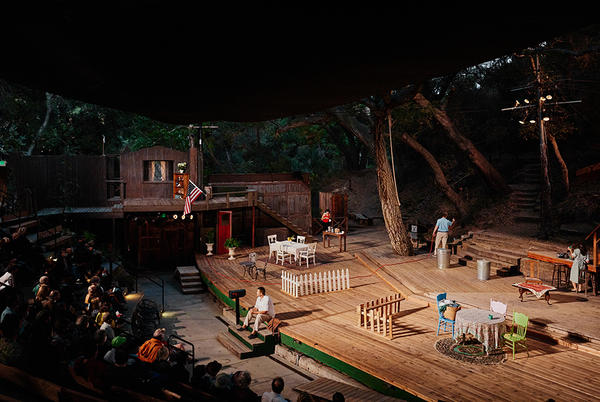 Picture for A theater in a California canyon becomes an oasis once again