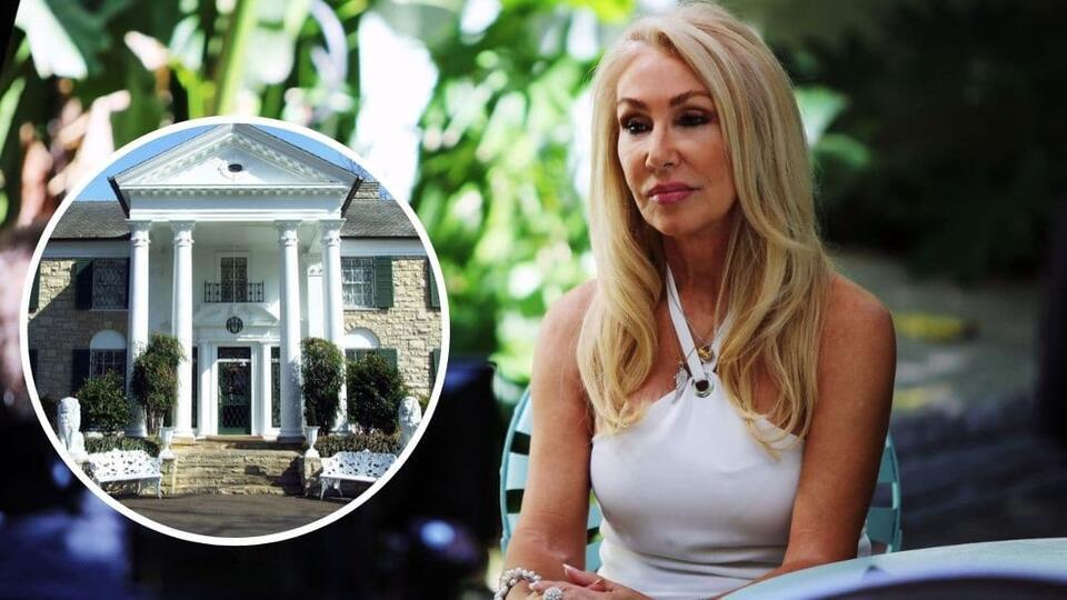 Picture for Linda Thompson Visits Her Former Home, Elvis Presley's Graceland