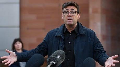Picture for 'This is not a lockdown', Andy Burnham says as Greater Manchester residents told to 'minimise travel'