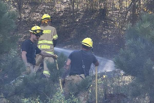 Picture for Kearney area firefighters help battle Crawford wildfires