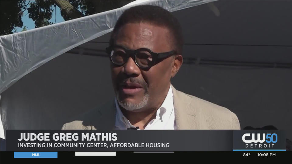 Picture for Judge Greg Mathis To Build New Community Center, Affordable Housing On Detroit's Westside