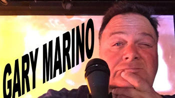 """Cover for Performer and event producer Gary Marino brings """"the kitchen sink"""" of comedy and music to Peabody's Black Box Theater."""