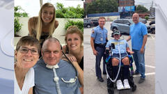 Cover for Two years after being paralyzed in crash on duty, North Carolina trooper preparing to move back home