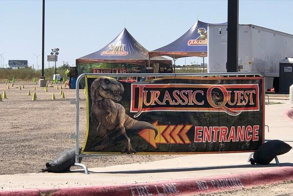 Picture for Jurassic Quest Drive-thru hosts last day at Midland Horseshoe