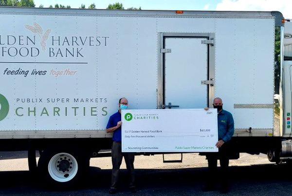 Picture for Golden Harvest gets big donation from Publix, joins city in grant