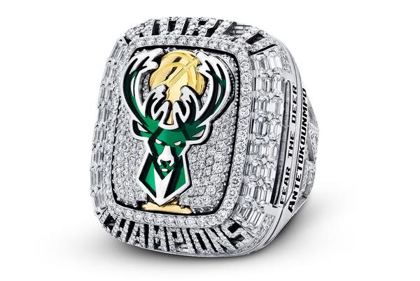 Picture for Take a Closer Look at Giannis Antetokounmpo's JBH Milwaukee Bucks Championship Ring