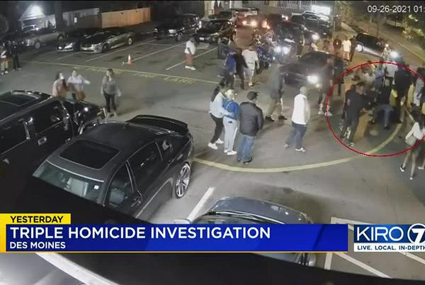 Picture for Surveillance video shows start of deadly shooting outside Des Moines nightclub