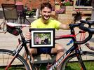 Picture for Young man marks 10th anniversary of dad's death with gruelling ride