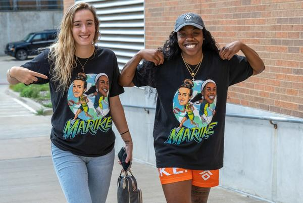 Picture for The Luckiest Two Women in the WNBA