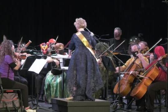 Picture for FM Orchestra Holds Costume Party