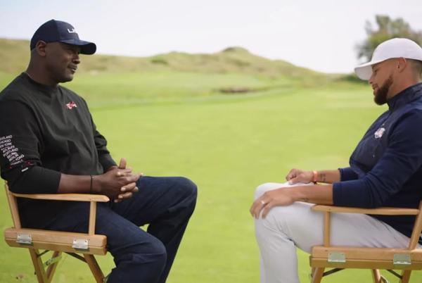 """Picture for Michael Jordan Tells Stephen Curry The Importance Of Golf In His Life: """"For A Competitive Person, This Game Keeps Me Sane."""""""