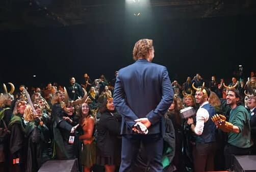 Picture for Loki Star Tom Hiddleston Surprises Cosplayers; Some Season 2 Time Talk