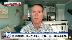 Cover for Texas judge tosses hospital workers' COVID-19 vaccine requirement lawsuit, says they can 'work somewhere else'