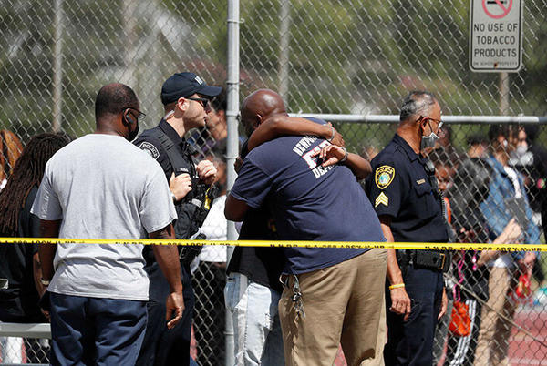 Picture for School shooting wounds 2 teens in Virginia, police say