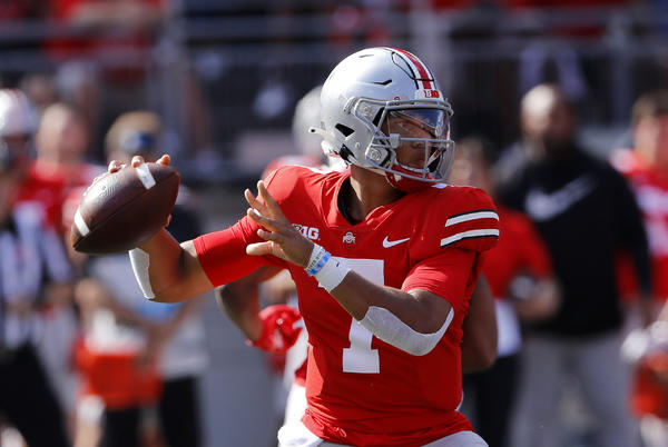 Picture for Ohio State should consider playing 2 QBs the next few weeks