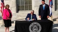 Cover for Justice Department says Governor Parson can't void federal gun laws