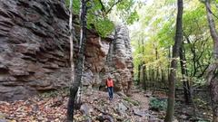 Cover for Hike Wisconsin's Spectacular Blue Hills, An Ancient Mountain Range You Might Have Never Heard Of