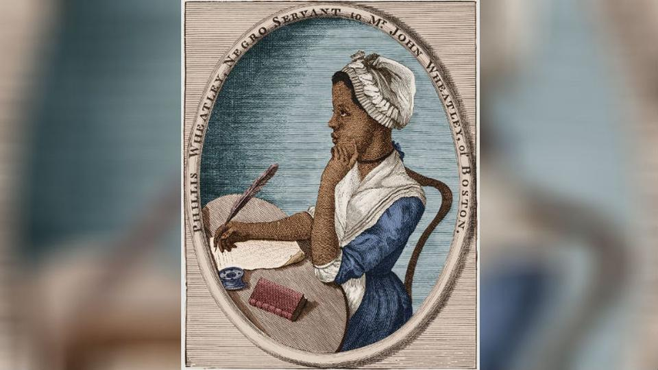 Picture for Black History Month: Phillis Wheatley, America's first black published poet