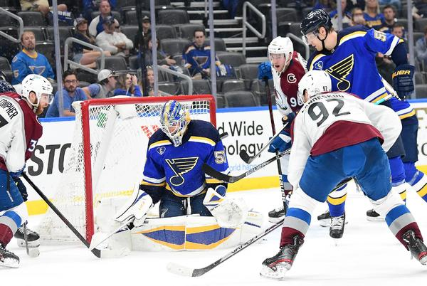 Picture for Blues at Avalanche Preview: It's finally opening night