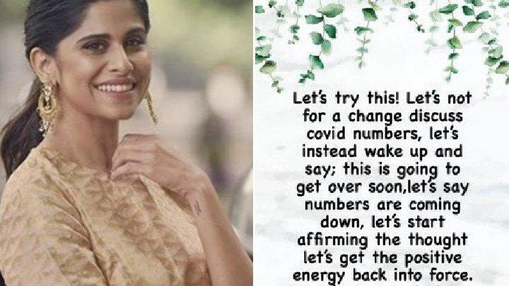 Picture for We Will Beat This Virus With Positivity Shares Sai Tamhankar