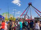 Picture for 'Perfect storm': Six Flags saw heavy traffic caused by large crowds taking advantage of rare, sunny weather