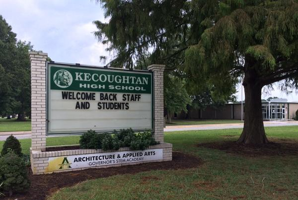 Picture for Kecoughtan High students detained in school after shots fired previous afternoon in nearby neighborhood