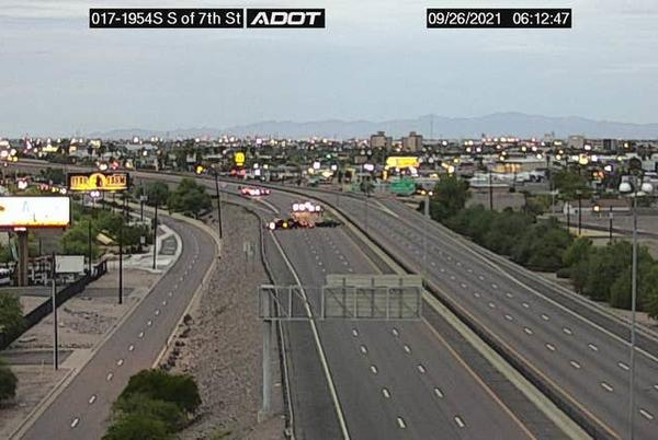 Picture for I-17 in Phoenix reopens after deadly rollover crash