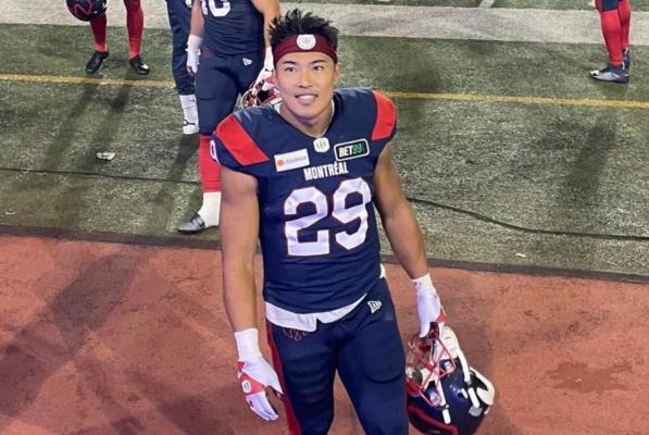 Picture for Japanese running back Taku Lee makes CFL debut with Montreal Alouettes