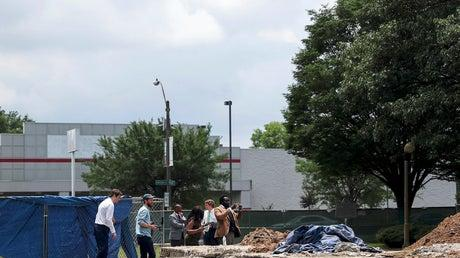 Picture for Remains of KKK leader Nathan Bedford Forrest exhumed from Tennessee park