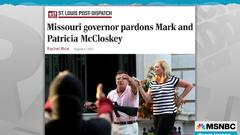 Cover for Missouri governor pardons right wing characters, leaves wrongfully convicted man in prison