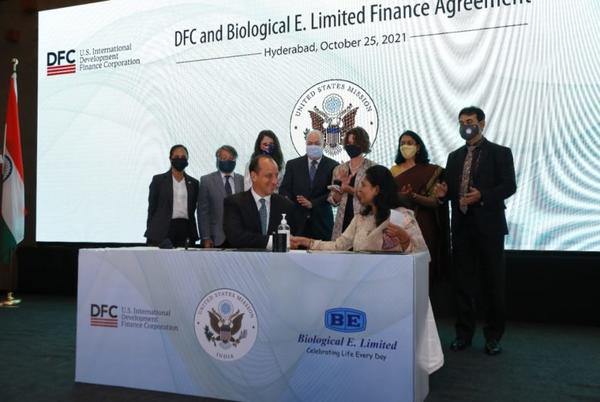 Picture for Agreement Inked For $50 Mn US DFC Funding To Biological E