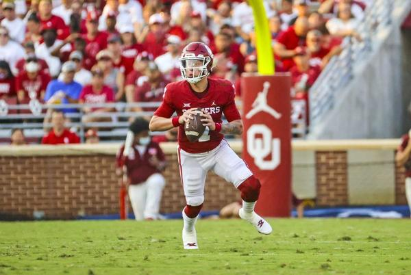 Picture for Top 10 college football quarterbacks: Oklahoma's Spencer Rattler crashes amid big shakeup